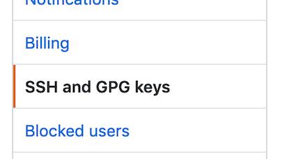 select ssh from settings menu
